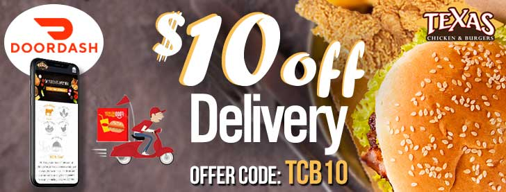 $10 off delivery special